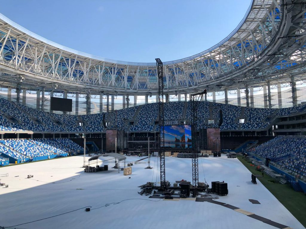 Летний кинотеатр появится на стадионе «Нижний Новгород»