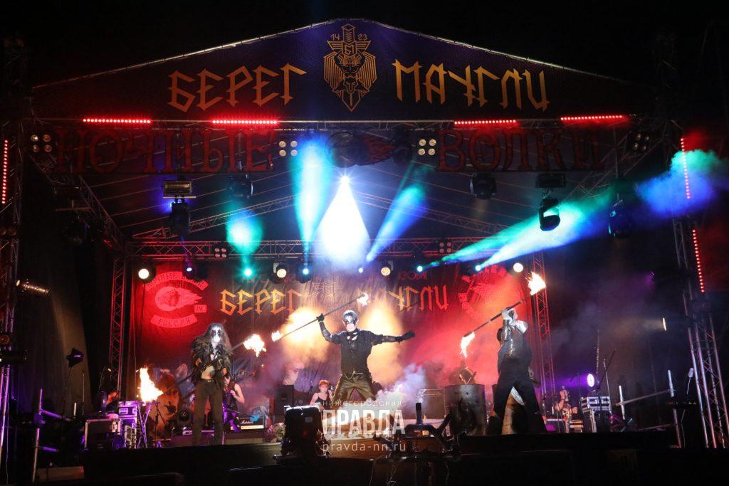 Нижегородцы сыграли свадьбу на рок-фестивале «Берег Маугли»