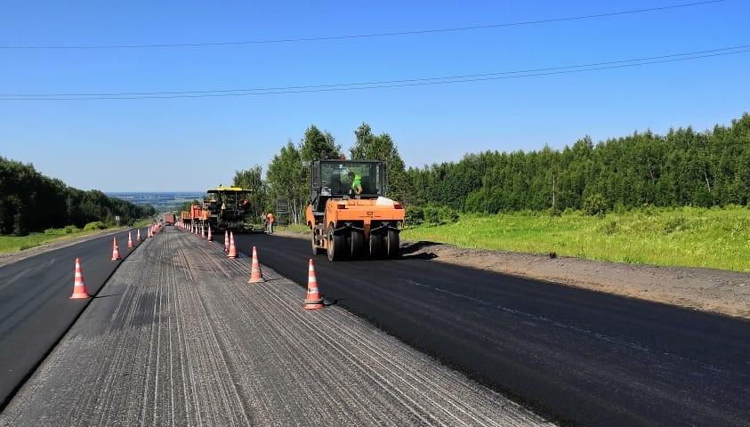 В Нижегородской области обновят участок трассы М-7