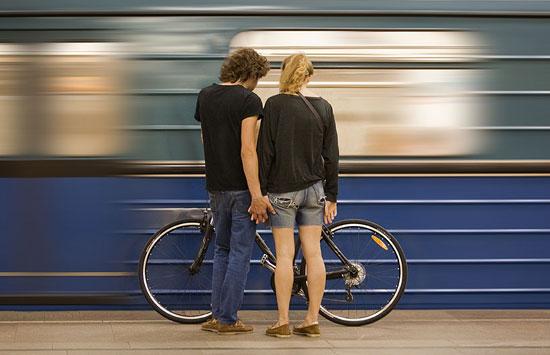 Памятка: как и когда в метро можно перевозить велосипеды и самокаты