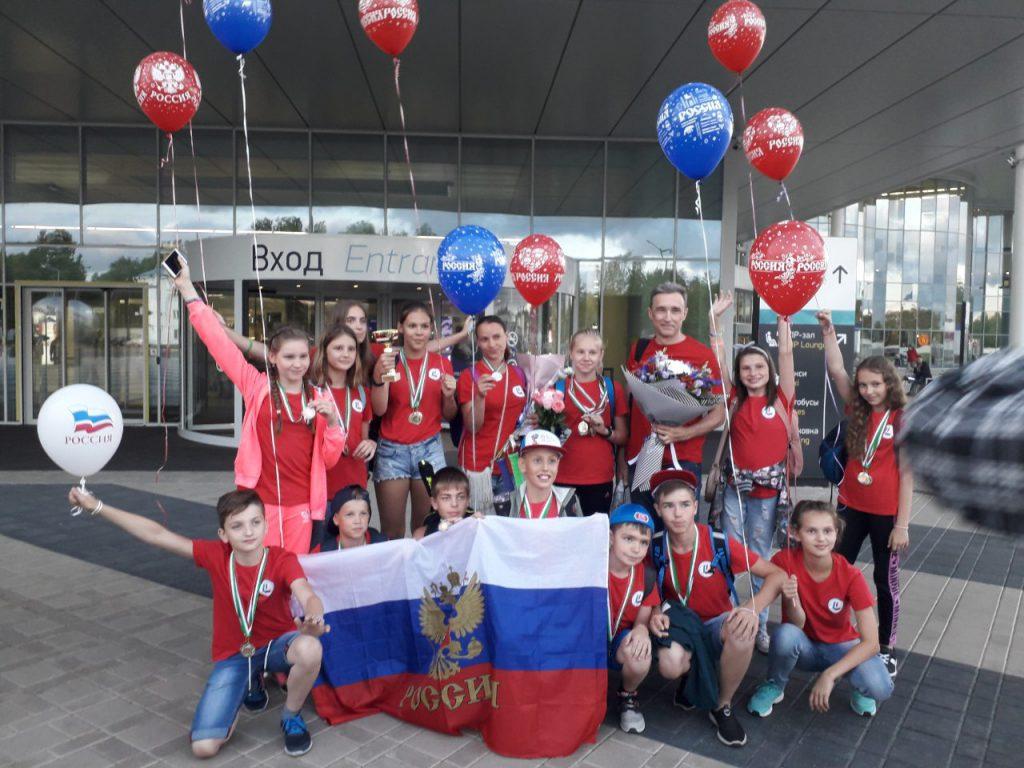 Нижегородские школьники завоевали 12 медалей на X детских Олимпийских играх в Венгрии