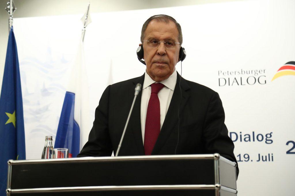 Министру иностранных дел Сергею Лаврову присвоили звание Герой Труда