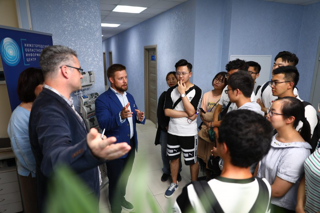 Китайские студенты посмотрели, как издаётся «Нижегородская правда»