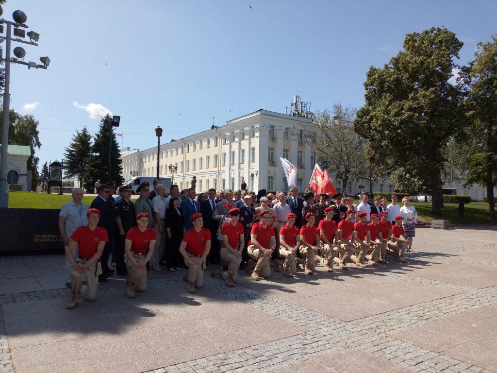 В Нижегородском кремле отметили День независимости Республики Беларусь