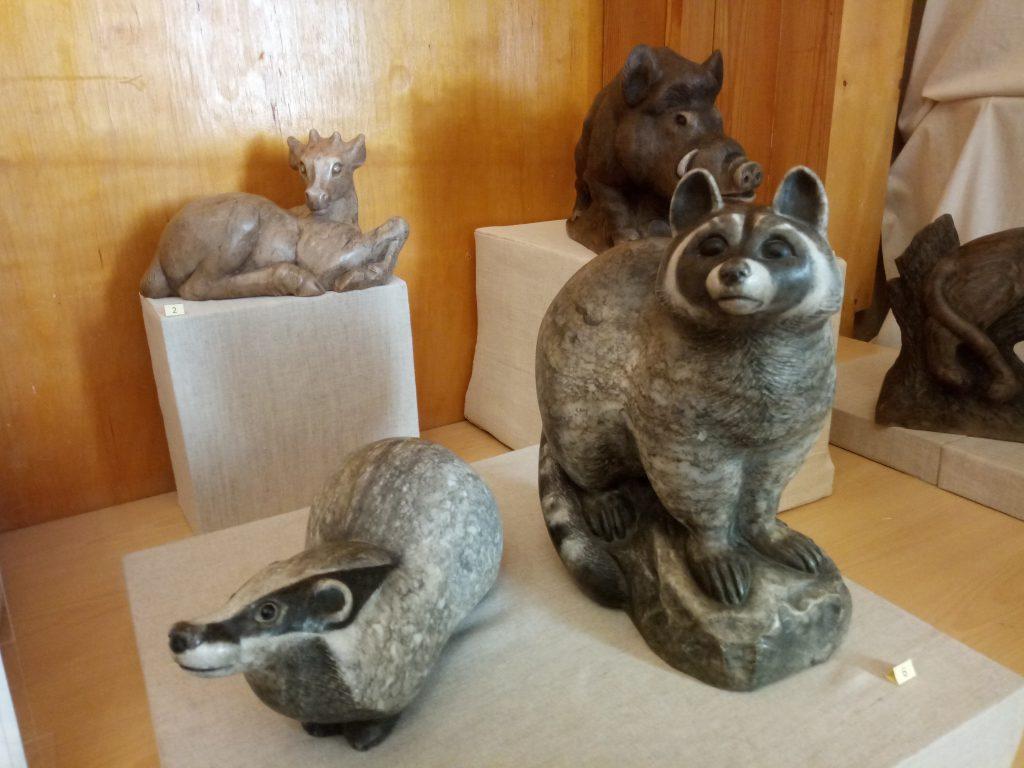 Выставка скульптур из борнуковского камня открылась в Нижнем Новгороде