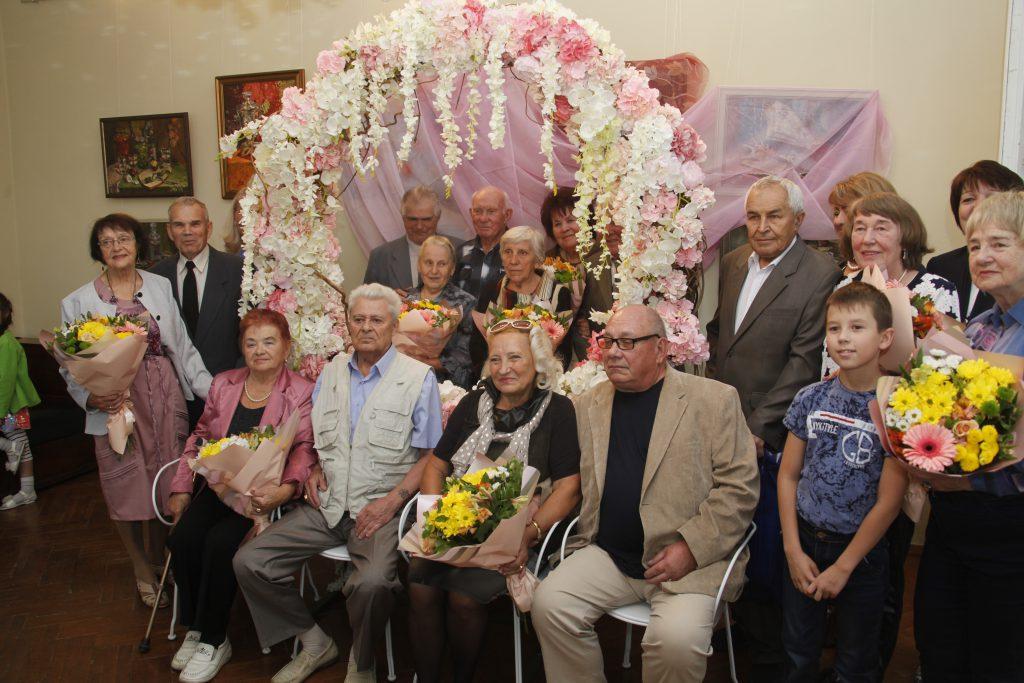 Восемь пар нижегородцев, прожившие вместе более 50 лет, поделились секретами семейного счастья