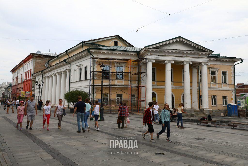 ДК имени Свердлова на Большой Покровской возвращают исторический облик