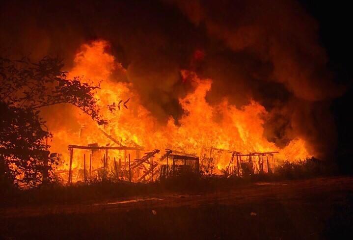 Нижегородка погибла на пожаре в собственном доме