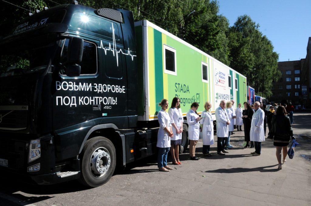 Проект «Поезда здоровья» стартовал вНижнем Новгороде