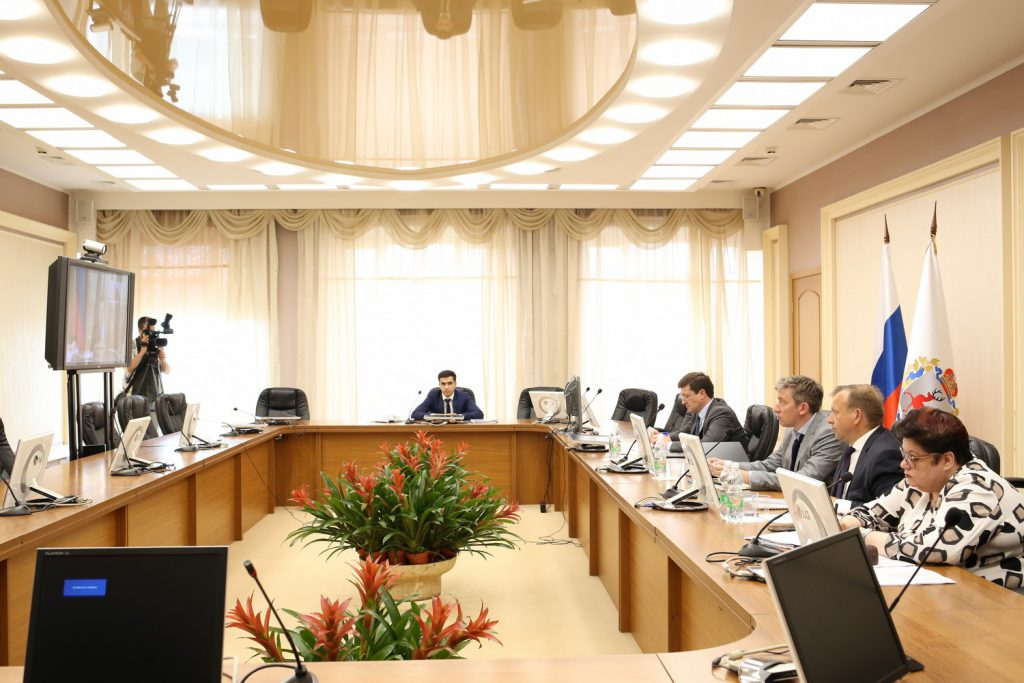 Глеб Никитин принял участие взаседании президиума Совета при ПрезидентеРФ постратегическому развитию инациональным проектам