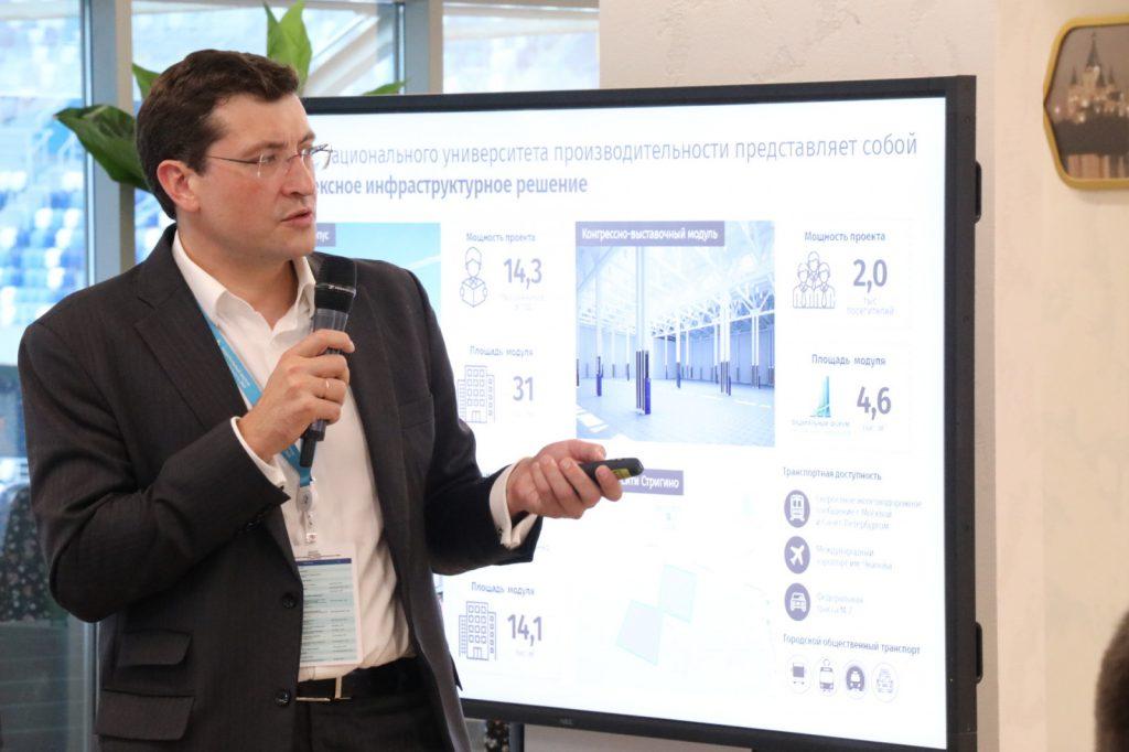 Глеб Никитин представил проект «Национального института производительности»