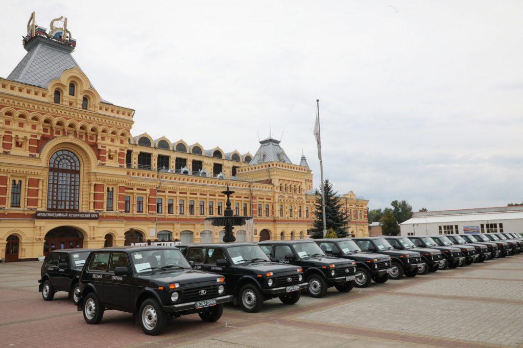 Почти 100 единиц техники получили нижегородские лесники врамках нацпроекта «Экология»