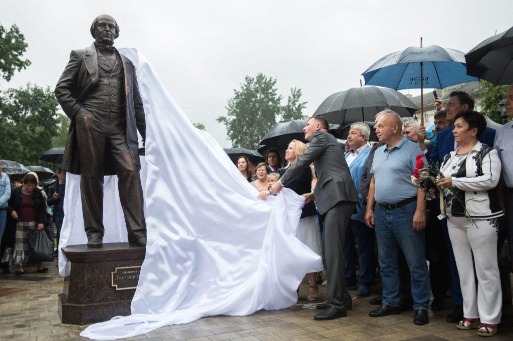 ВНижнем Новгороде открыли памятник основателю завода «Красное Сормово»