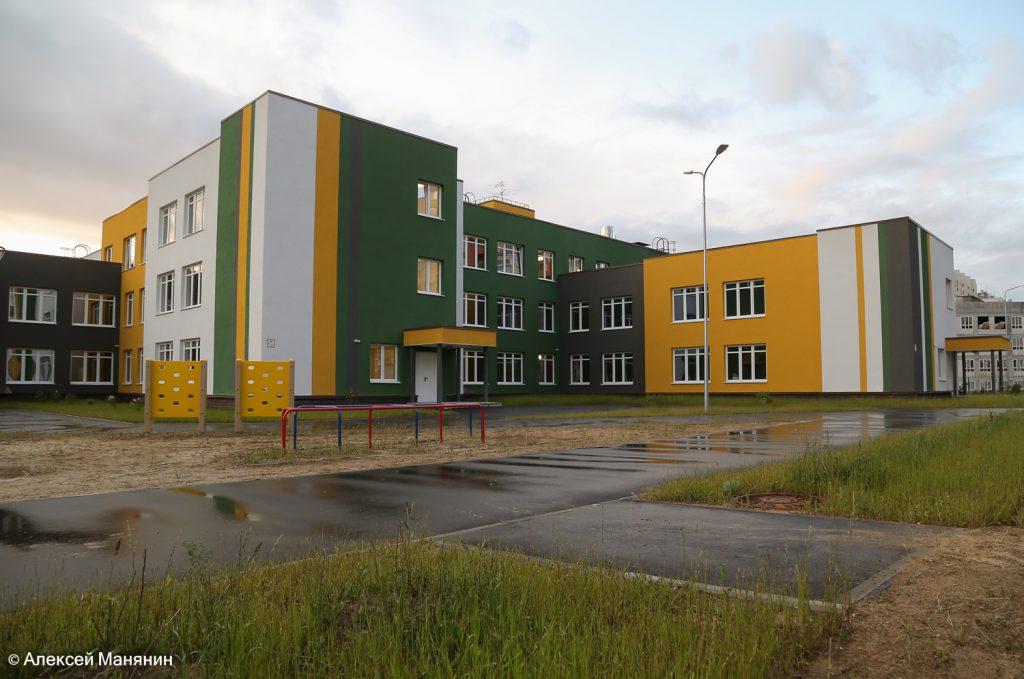 Новый детский сад в ЖК «Цветы» откроют к 1 сентября