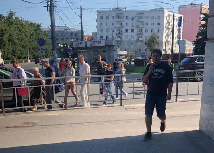 В Нижнем Новгороде снова убирают пешеходный переход: теперь на площади Горького