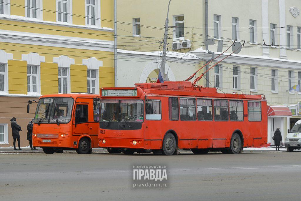 Движение троллейбусов №13, 17 и 31 временно ограничили в Нижнем Новгороде