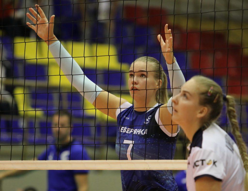 Волейболистка из череповецкой «Северянки» вошла в состав нижегородской команды «Спарта»