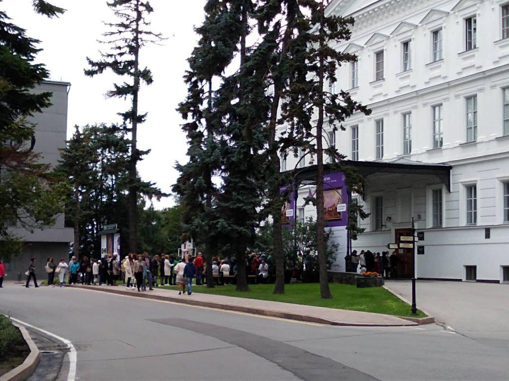 Первый день выставки «Сокровища музеев России» вызвал небывалый ажиотаж