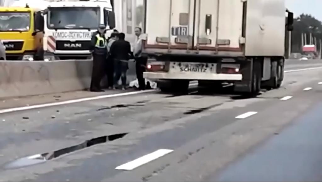 Фура сбила пешехода на трассе М7 в Нижегородской области