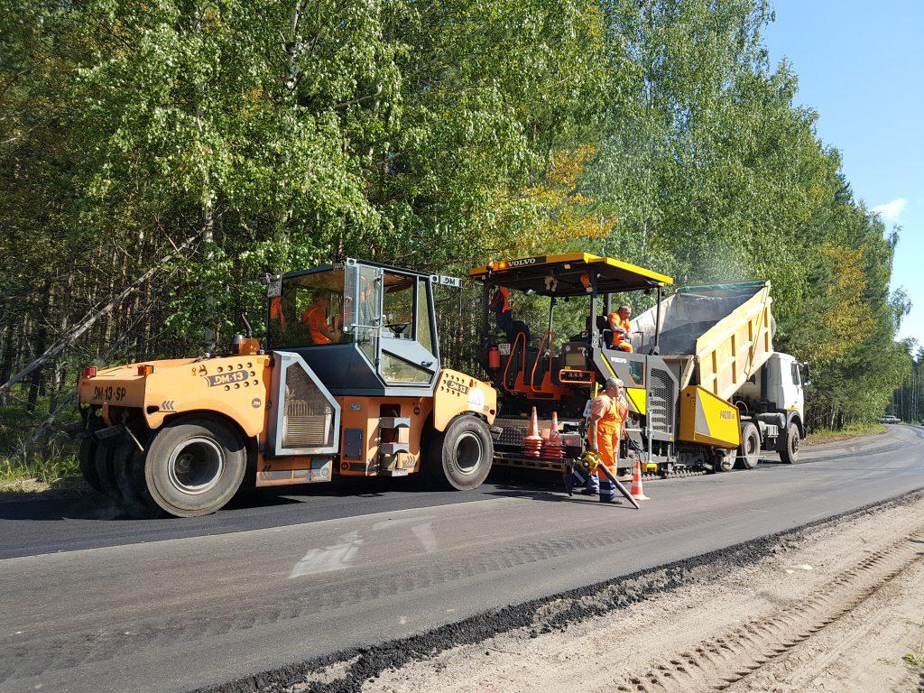 ВБорском районе завершили ремонт дороги Останкино-Большеорловское-Березовский-Рустай