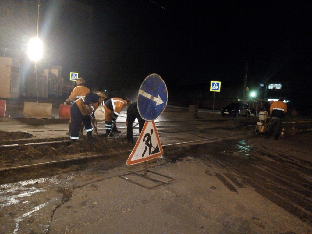 Шесть участков трамвайных путей отремонтировали в Нижнем Новгороде с начала года