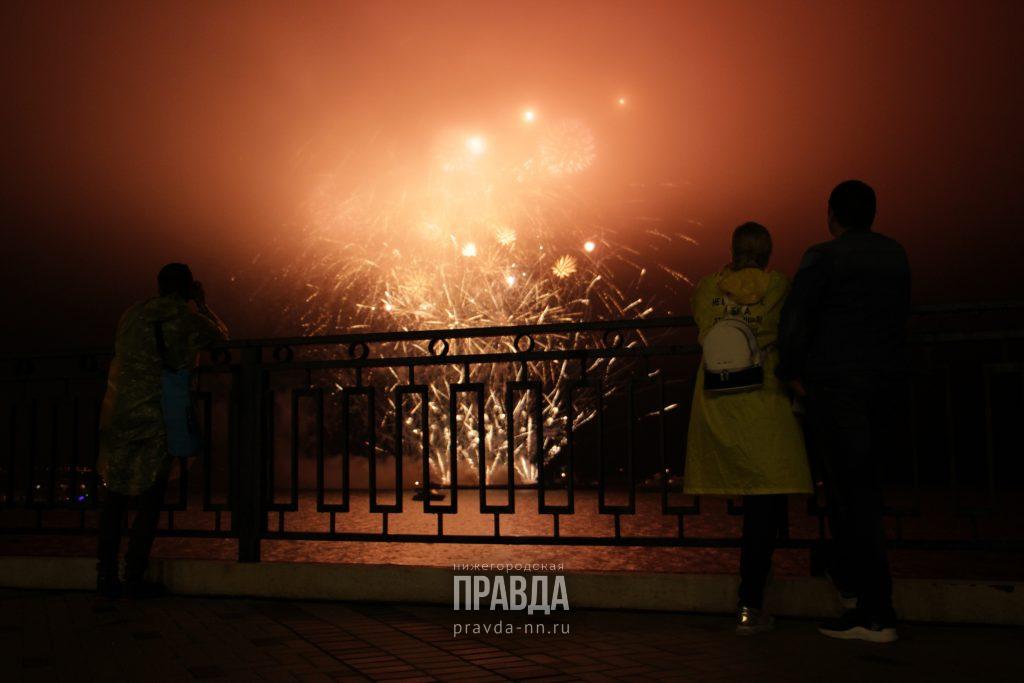 Новогодний салют: рассказываем, где в Нижнем Новгороде запускать фейерверки