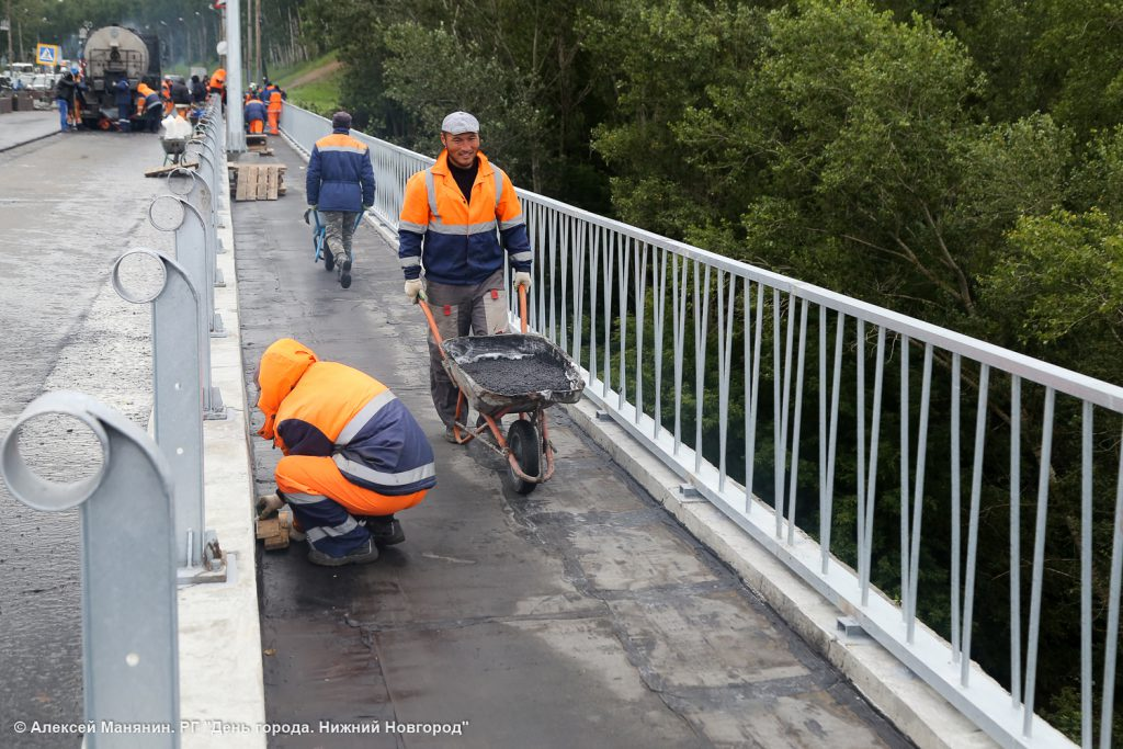 Мызинский мост отремонтирован на 97%