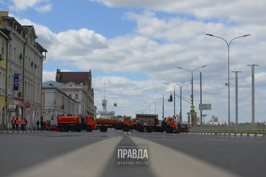 Стало известно, какие улицы перекроют в Нижнем Новгороде в День города