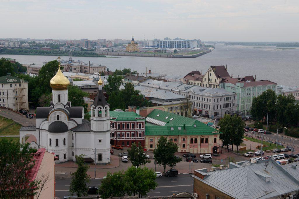 Обновлена карта распространения коронавируса по районам Нижегородской области