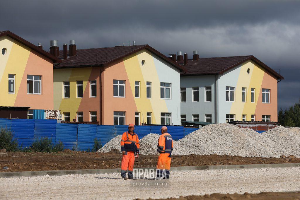 21 детский сад построят в Нижегородской области до конца года