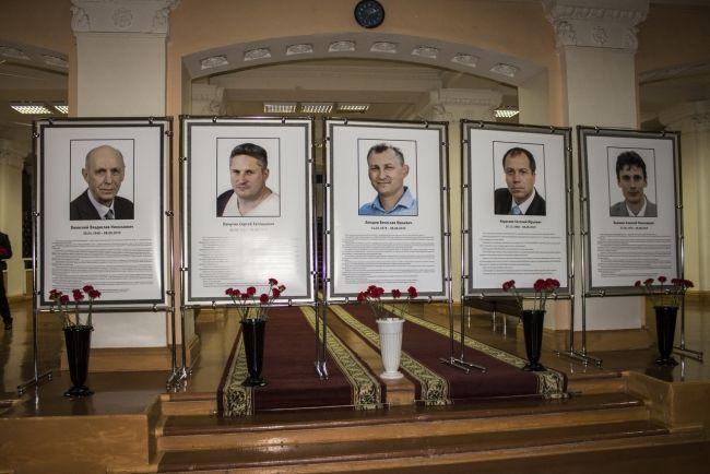 Семьи погибших под Северодвинском саровчан получили ордена Мужества из рук Владимира Путина