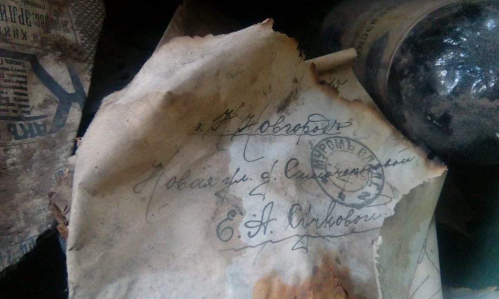 Дореволюционные артефакты нашли в одном из домов Нижнего Новгорода