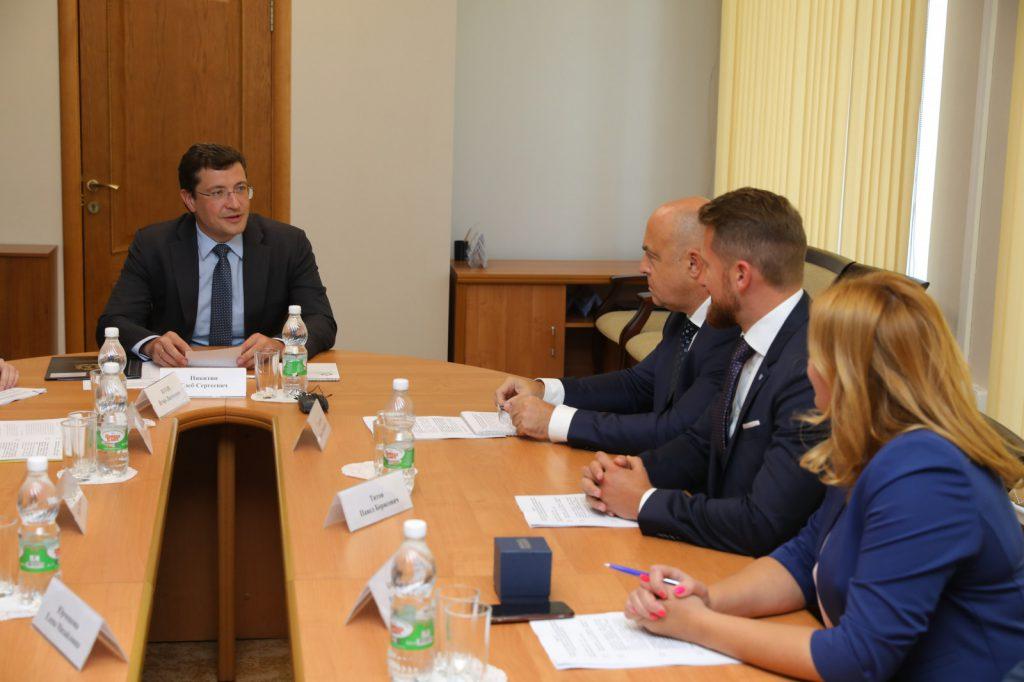 Глеб Никитин провел рабочую встречу спредставителями «Деловой России»
