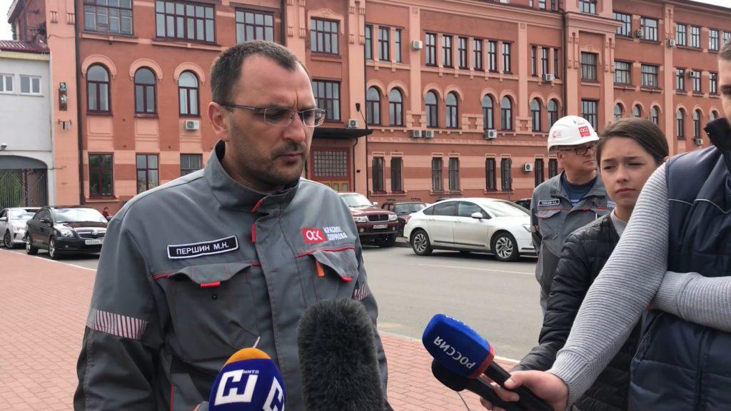 Гендиректор «Красного Сормова» прокомментировал ЧП на заводе
