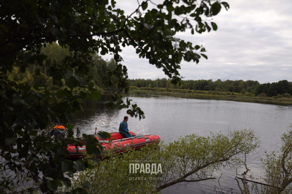 Четыре человека утонули в выходные в Нижегородской области