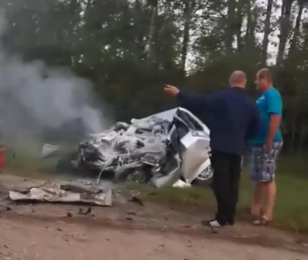 Семья погибла в лобовом ДТП под Нижним Новгородом
