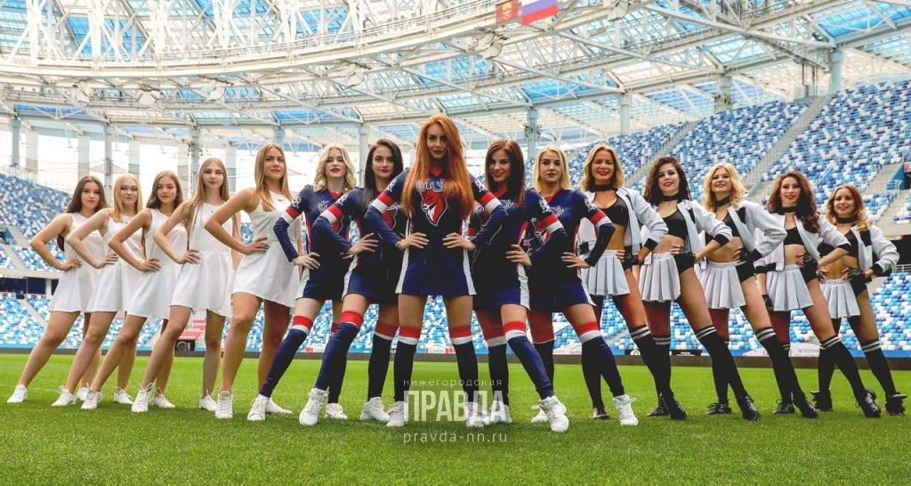 Нижегородцы выбрали самую горячую группу поддержки нижегородских спортивных клубов.
