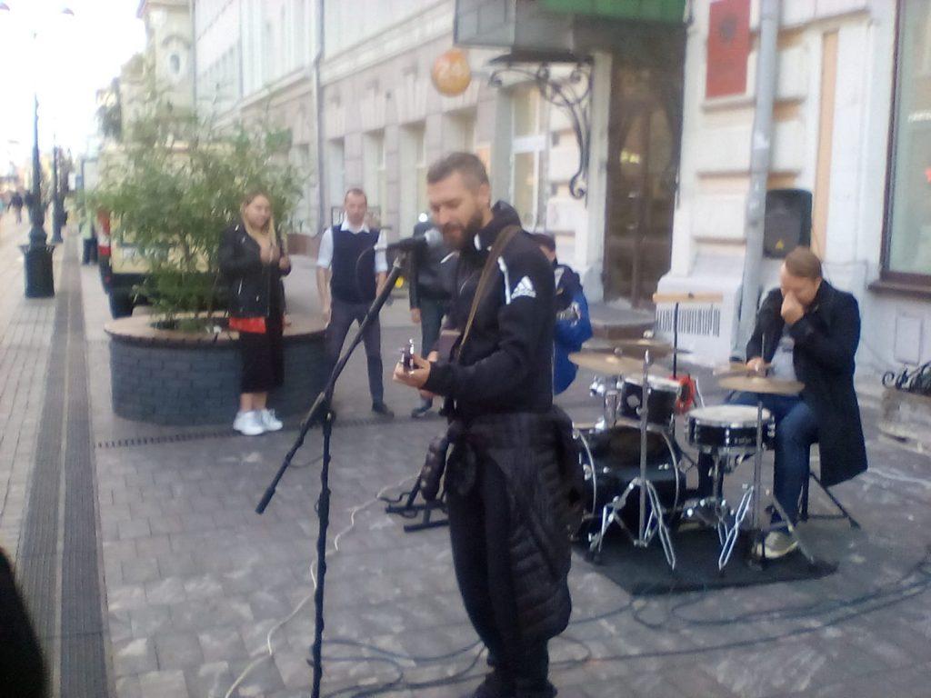 Владимир Кристовский зажёг на Большой Покровской
