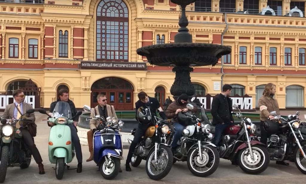 Джентльмены на железных конях: в Нижнем Новгороде прошел благотворительный мотозаезд The Distinguished Gentlemans Ride