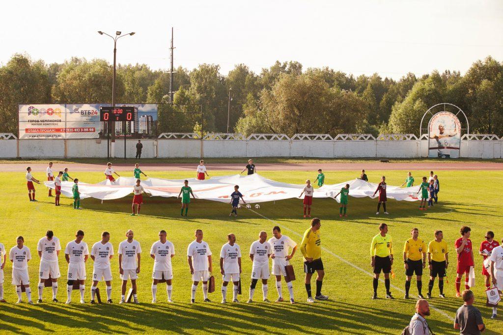 Футбольный матч в поддержку трех тяжелобольных детей пройдет в Нижегородской области
