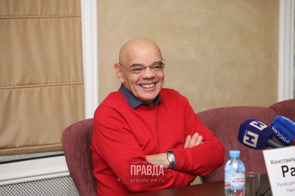 Константин Райкин представил нижегородской публике спектакль «Дон Жуан»