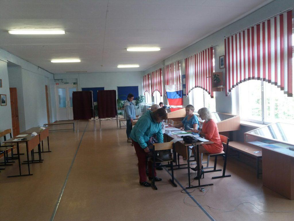 Ситуационный центр Общественной палаты Нижегородской области прокомментировал ситуацию на избирательном участке №2269