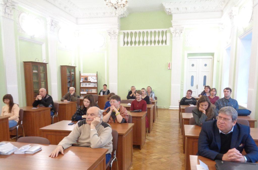 Новые книги представили на фестивале в нижегородской областной библиотеке