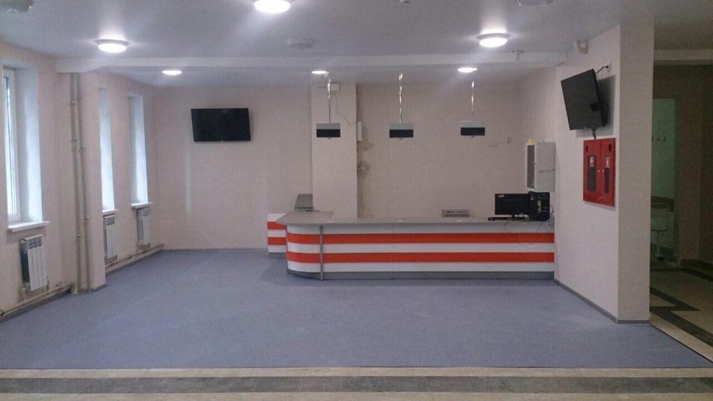Детская поликлиника городской клинической больницы №40 откроет свои двери после ремонта вначале октября