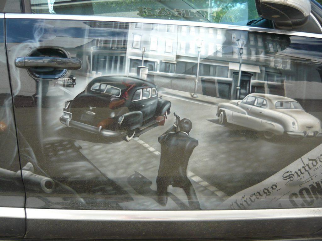 Фото дня: на нижегородских дорогах появились «гангстеры»
