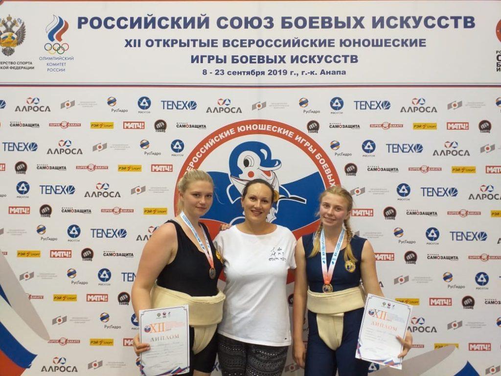 Нижегородки завоевали золото и бронзу на всероссийских юношеских соревнованиях по сумо