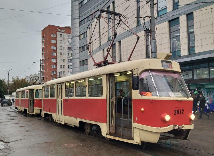Движение трамваев №6 и №7 временно изменится в Нижнем Новгороде