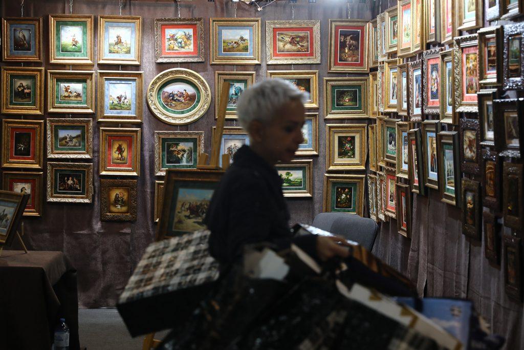 Целый павильон искусства: рассказываем, как тысячи картин уместились на выставке «АРТ Россия» в Нижнем Новгороде
