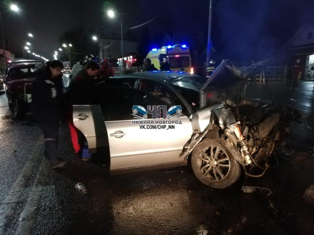 Чудом остались живы: две иномарки на большой скорости столкнулись в Афонине (ФОТО)