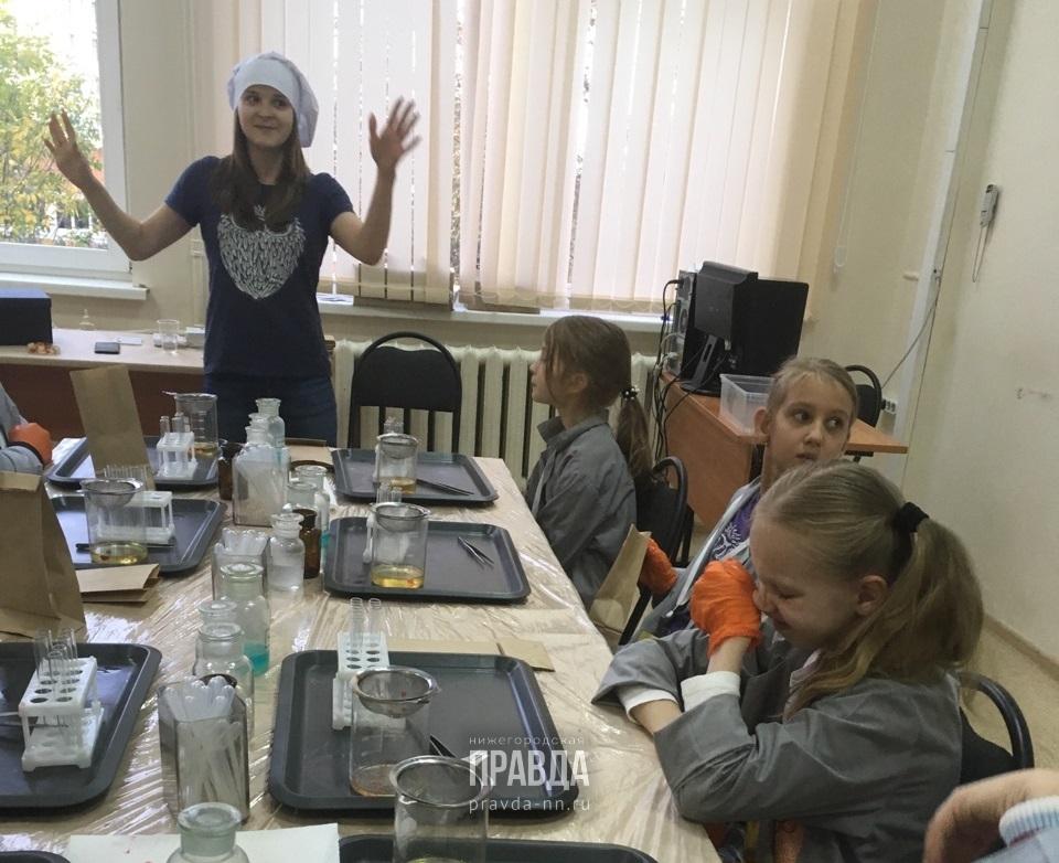 «Наука о еде»: рассказываем, как юные нижегородцы в игровом формате познают тайны химии, физики и биологии